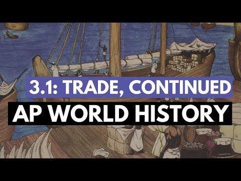 AP World Period 3 - Silk, Sea, & Sand Routes (KC 3.1)