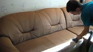 Чистка мягкой мебели на дому Днепропетровск 067 885 8185(, 2013-02-18T13:31:59.000Z)