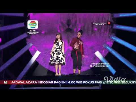 Tasya rosmala feat Diana sastra ~ Lanange jagad LIVE SEMARAK INDOSIAR YOGYAKARTA