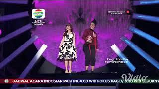 Tasya rosmala feat Diana sastra Lanange jagad LIVE SEMARAK INDOSIAR YOGYAKARTA