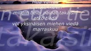 Miljoonasade Marraskuu+sanat- Alkuperäinen!