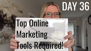 Day 36: Online Marketing Tools For Small Business
