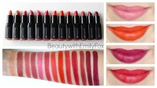 ELF Moisturizing Lipstick + Lip Swatches (All 13 Shades)