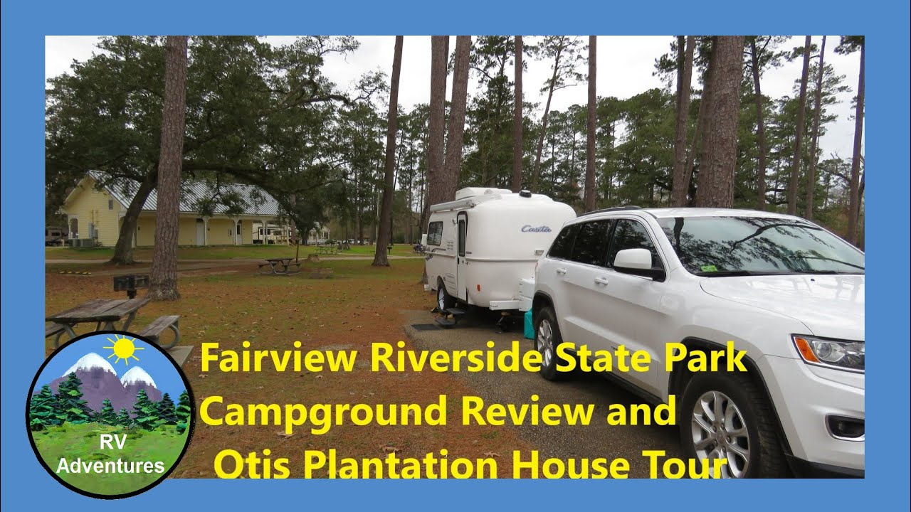 Fairview Riverside State Park in Louisiana by RV Adventures