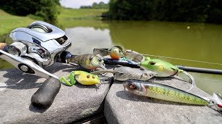 Summer Fishing Lure tнat NEVER FAILS!!! (Bank Fishing 5 NEW Lakes & Ponds)