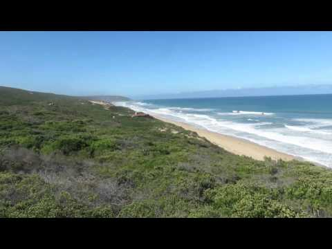 Blombos Beachfront Property For Sale Western Cape - 60Ha - 200m Beach - Drone Footage