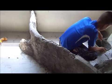 ที่ประดิษฐานพระพุทธรูปลายไม้
