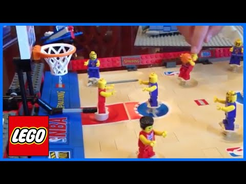 LEGO Sports 3432 NBA Challenge Basketball Set from 2003 review