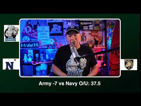 Army vs Navy 12/12/20 Free College Football Picks and Predictions CFB Tips