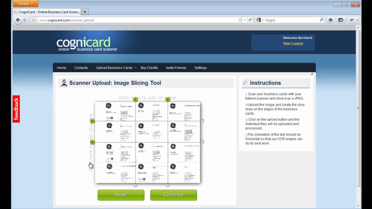 CogniCard - Online Business Card Scanner - YouTube