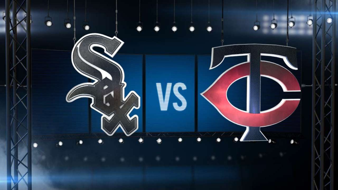 Twins use five home runs to bash White Sox
