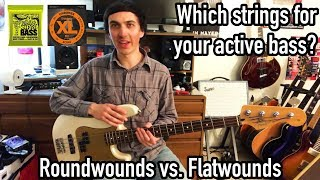 Watch this before you try Flatwounds! ~ String Comparison ~