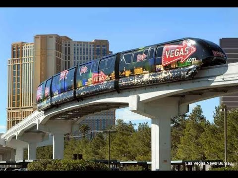Las Vegas Monorail 4K February 2018