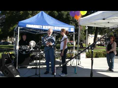 Featured Artist Presentation at the Monrovia Arts Festival 2011