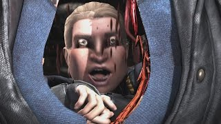 Mortal Kombat X - Sonya/Johnny Cage Mesh Swap Intro, X Ray, Victory Pose, Fatalities, Brutality