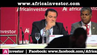 Pedro Coelho, CEO, Standard Bank Angola, at the Ai CEO Institutional Investment Summit 2013