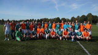 Fan-Match gegen die Niederlande in Amsterdam