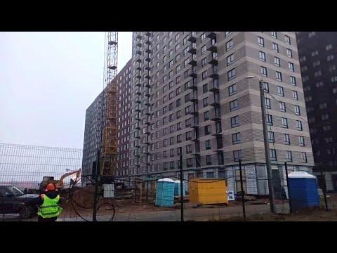 ЖК Белая Дача Парк. Пик.Побывал на стройке.Осмотр квартиры.Стройка глазами строителя