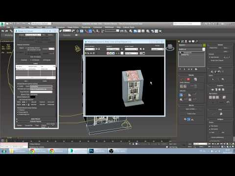 Export Custom Lightmap from 3DS Max to Sketchfab