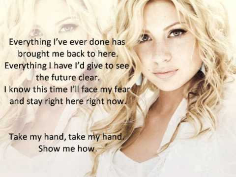 Take My Hand Aly Michalka (Hellcats) Lyrics