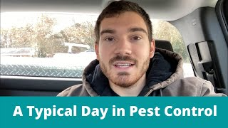 Pest Control Technician - A Typical Day in Pest Control