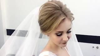 видео Свадебные прически с длинной фатой
