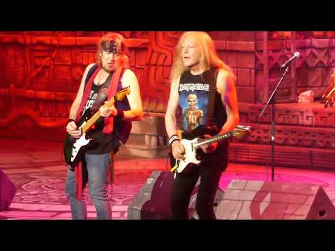 """The Red and the Black"" Iron Maiden@Prudential Center Newark, NJ 6/7/17"