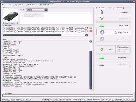 LG GT500 Unlocking And Debranding by Z3X SGOLD Software