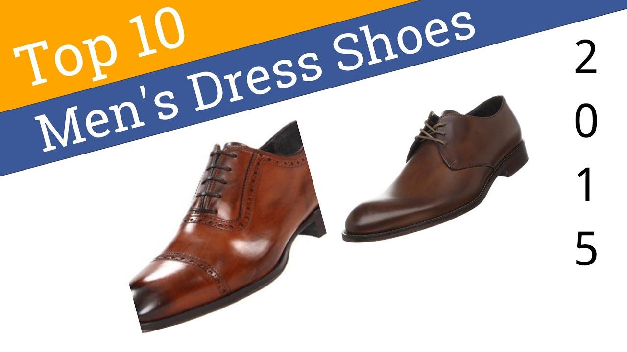 10 Best Men's Dress Shoes 2015 - YouTube