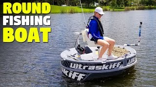 Personal Round Fishing Boat