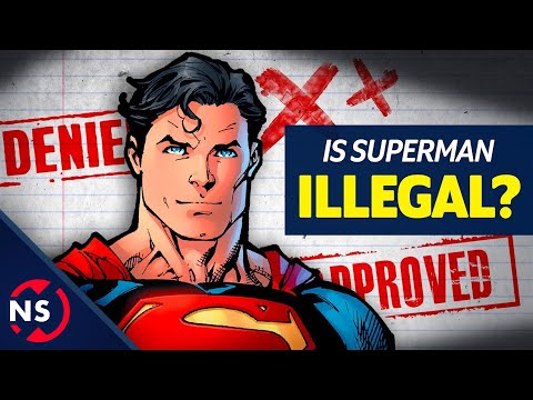 COMIC THEORY: Is Superman REALLY an Illegal Alien??? || NerdSync