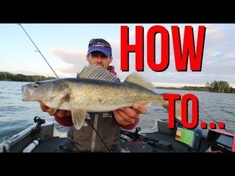 How To Catch Walleyes - Chippewa Flowage - Hayward, Wisconsin