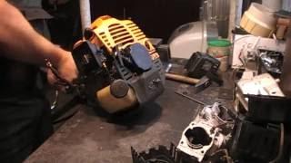 Разборка и ремонт мотокосы, триммера Gruntek BS 52X(, 2016-07-17T09:13:58.000Z)