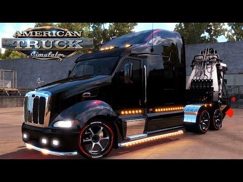 American Truck Simulator: Pete 387 - Liebherr 9150 Excavator Arm ~30 Tons