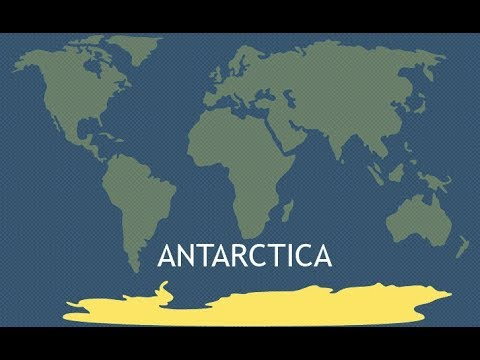 Antarctica, southernmost continent in the world.