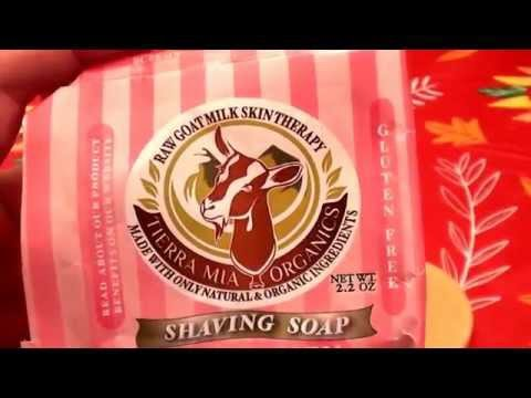 Tierra Mia Organics Shaving Soap for Women...CRUELTY FREE