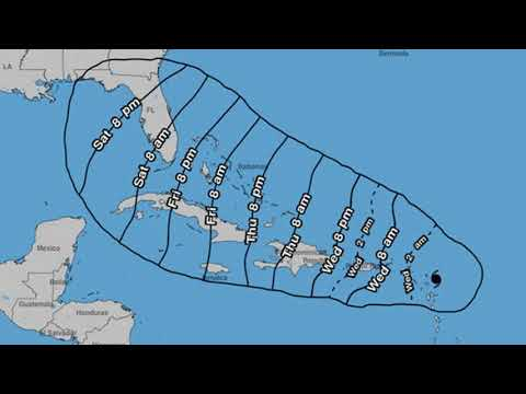 Hurricane Irma track: What time will it hit the Caribbean? Barbuda, Antigua, Bahamas news