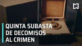 Quinta subasta de bienes decomisados al crimen organizado en Los Pinos - En Punto