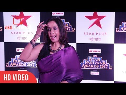 Neena Kulkarni At Star Parivaar Awards 2017 | Viralbollywood