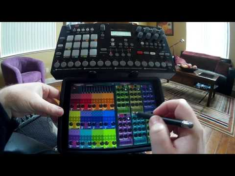 Midi Designer Pro Based Sequencing and Control Setup for Elektron's Analog Rytm