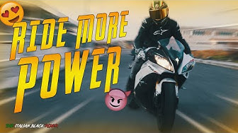 #1 RIDE MORE - R6 POWER