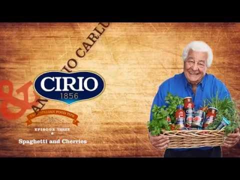 Antonio Carluccio & Cirio - Episode 3: Spaghetti and Cherry Tomatoes