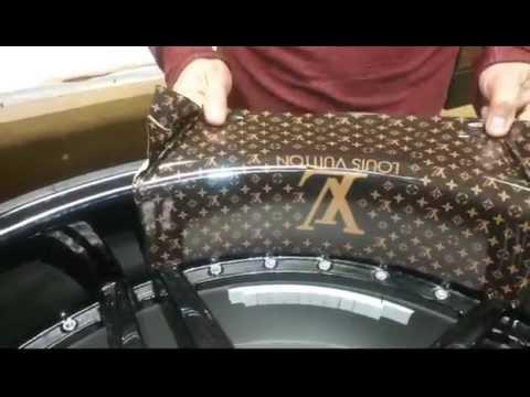Custom Wheel Wraps
