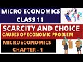 SCARCITY and CHOICE ECONOMICS IN HINDI  for class 12th - Micro Economics- CEP CLASSES