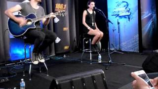 Cher Lloyd- Want U Back (few seconds) - Dallas, TX 6/5/12