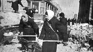 """""""Ленинград, Война, Блокада""""  1943 год. Взгляд из США. Документальный фильм"""