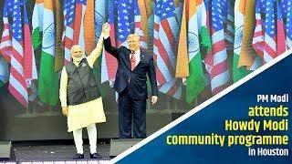PM Modi addresses Howdy Modi community programme in Houston