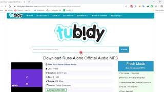Download HOW TO DOWNLOAD MP3 TUBIDY