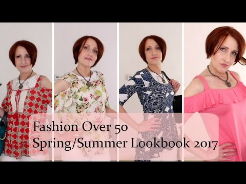 90ad4b52451 Spring Summer Fashion Ideas For Women Over 50! L👀kbook - YouTube
