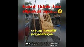 Kerajinan   Kayu   Jati Belanda   Alam   Indonesia